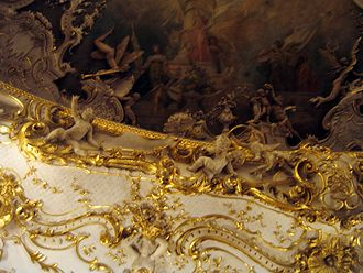State Opera (Prague) - Ceiling detail.