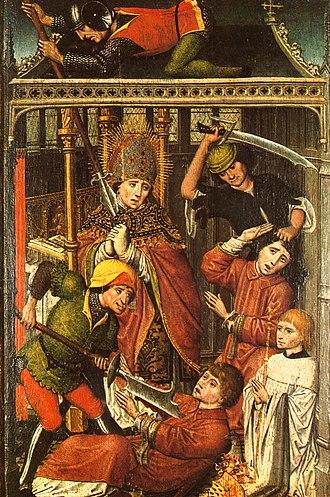 Prince-Bishopric of Liège - Image: St Lambert Liège
