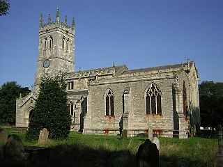 Wadworth village in United Kingdom