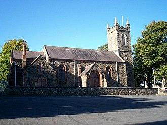 Seagoe parish - Image: St. Gobhan's Parish Church, Seagoe. Portadown. geograph.org.uk 568386
