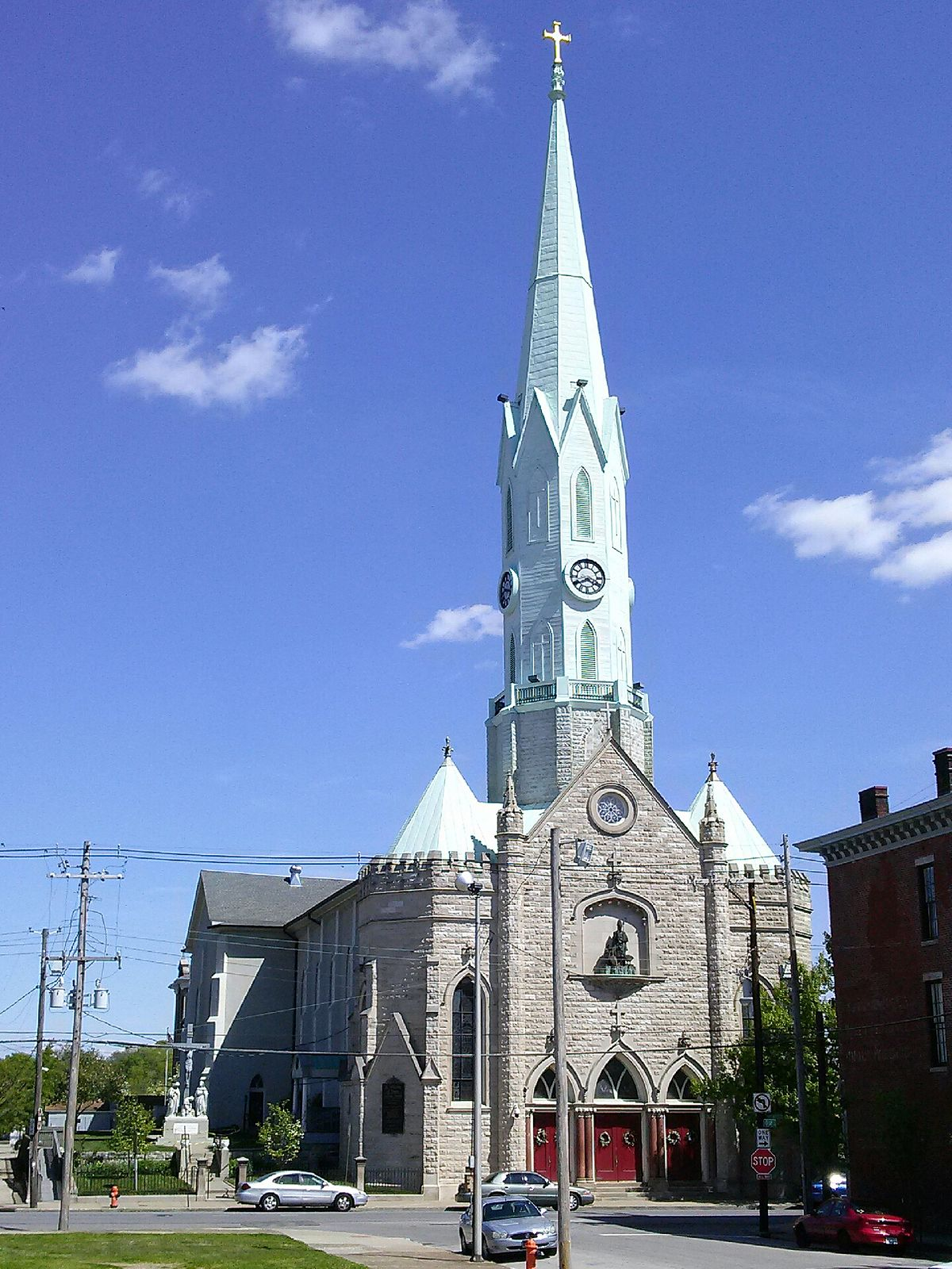 st martin of tours catholic church louisville kentucky
