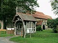 St. Mary's church and Lych Gate, Flowton, Suffolk - geograph.org.uk - 250177.jpg