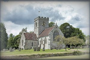 Dinton, Wiltshire - St Mary's Church