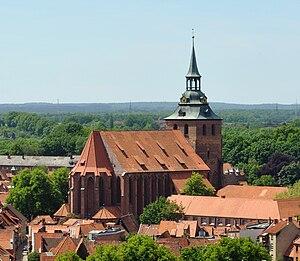 St. Michaelis, Lüneburg - St. Michaelis from the north-east
