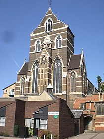 St Alban the Martyr Church and Brookes Court EC1 - geograph.org.uk - 1393708.jpg