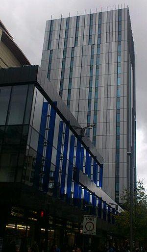 St Andrew House, Glasgow - St Andrew House in 2012 as a Premier Inn hotel.