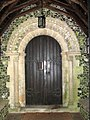 St Ethelbert's church, East Wretham - Norman doorway - geograph.org.uk - 1404084.jpg