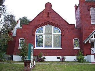 St. James A. M. E. Church (Sanford, Florida) - Image: St James AME Church in Sanford 1