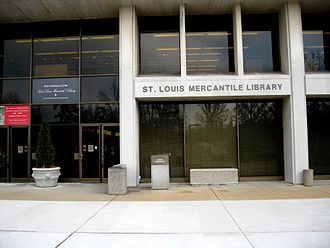 St. Louis Mercantile Library - Current home of the library on the UMSL Campus