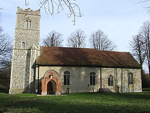 Nettlestead, Suffolk - Image: St Mary Nettlestead geograph.org.uk 1153736
