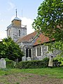 St Mary the Virgin, Woodnesborough, Kent - geograph.org.uk - 325997.jpg