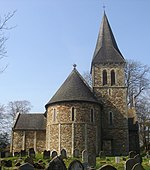 St Nicholas Church, Worth, Crawley (Liturgical East End).jpg