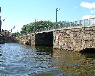 road bridge between Norrmalm and Kungsholmen in Stockholm, Sweden