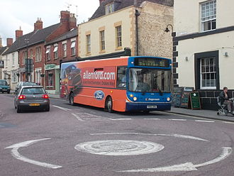 Stagecoach West - Alexander ALX200 bodied Dennis Dart SLFin June 2012