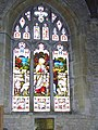 Stained glass window, St Mary's Church, Bruton - geograph.org.uk - 666249.jpg