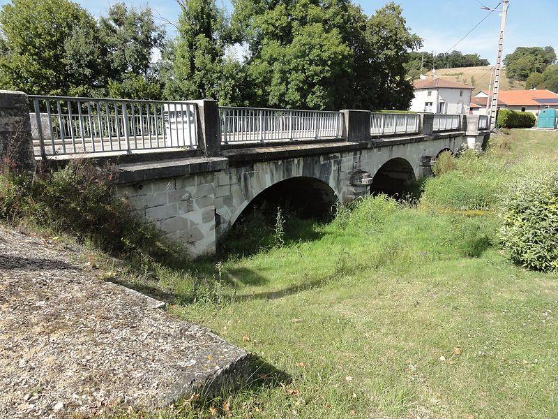 Stainville (Meuse) pont de la Saulx