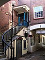 Staircase on Queen's Walk, Exeter - geograph.org.uk - 358362.jpg