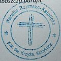 Stamp, church Kobylnica.JPG