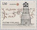 Stamp of Finland - 1979 - Colnect 46880 - Optical telegraph 1796 of Edelcrantz AN physician - ma.jpeg
