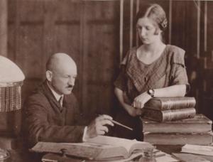 Stanisław Bobiński - Stanisław Bobiński and his wife Jadwiga