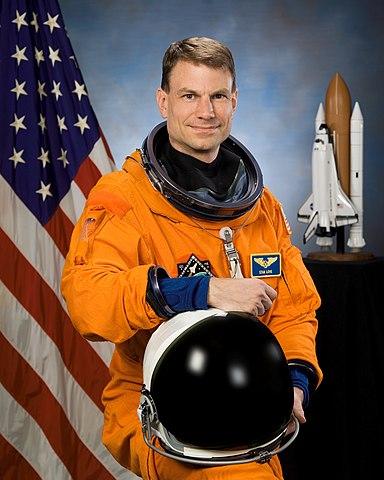 Astronaut Stanley G. Love PhD, STS-122 mission specialist, NASA photo (25 July 2007) Source: Wikipedia (spaceflight.nasa.gov killed 25 Feb 2021) 384px-Stanley_G._Love.jpg