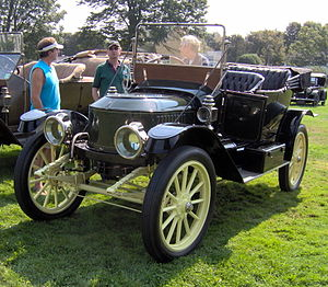 Stanley Motor Carriage Company - 1912 Stanley steam car