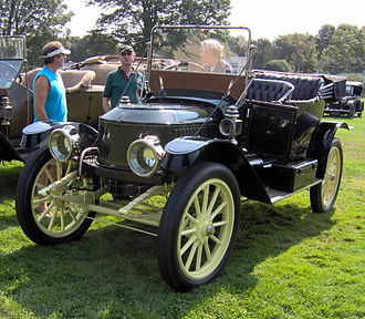 Steam car - Stanley Steam Car (1912)
