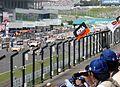 Starting grid of GT300 at 2014 pokka sapporo 1000km.JPG