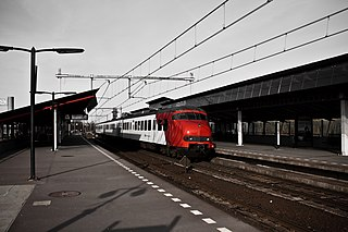 Almere Parkwijk railway station