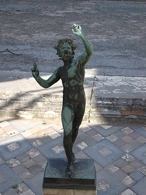 London Controlling Section - Image: Statue Faune Pompéi