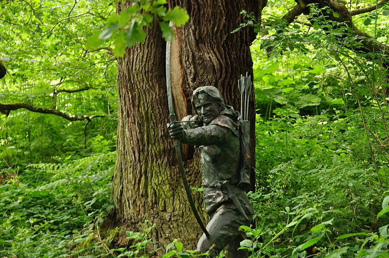 File:Statue of Robin Hood in Sherwood Forest (9464).jpg