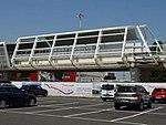Stazione di partenza del People Mover all'aeroporto in costruzione - agosto 2017 - 01.jpg