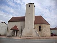 Ste Cécile (Saône-et-Loire, Fr) église ext.JPG