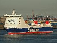 Stena Forerunner (ship, 2003) IMO 9227259 at the Calandkanaal pic3.JPG