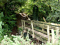Steps and bridge over Linacre Brook - geograph.org.uk - 252953.jpg