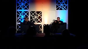 IEEE Computer Society - Steve Wozniak relating tales of his television jammer hijinks from college at the first TechIgnite conference