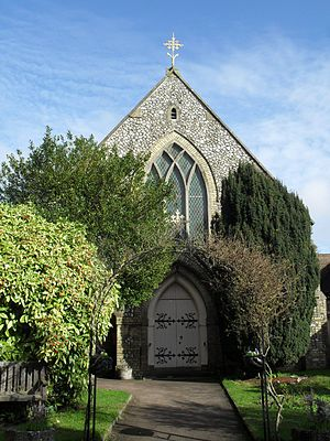 Jarvis Hall, Steyning - The Methodist community moved into the new Steyning Methodist Church, partly funded by the sale of Jarvis Hall, in 1878.