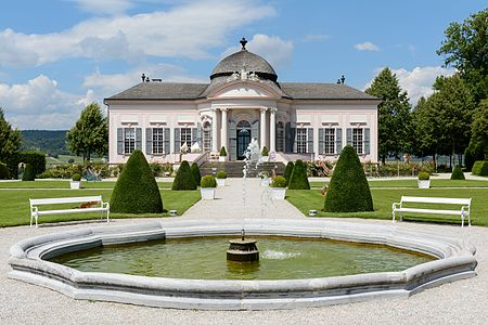 Garden Pavilion in the park of Melk Abbey, Lower Austria