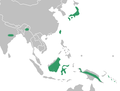 Stigmatodactylus distribution map.png