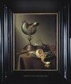 Stilleben med nautiluspokal. Olja på trä - Hallwylska museet - 22456.tif