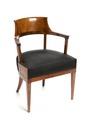 Stol, senempire, 1820-tal - Hallwylska museet - 108533.tif