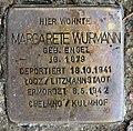Stolperstein Bundesplatz 2 (Wilmd) Margarete Wurmann.jpg