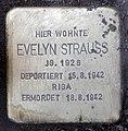 Stolperstein Helmstedter Str 29 (Wilmd) Evelyn Strauss.jpg