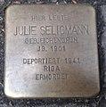 Stolperstein Köln Lübecker Straße 22 Julie Seligmann.jpg