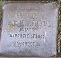 Stolperstein Mittelweg 8-10 Heinrich Bauernfreund.jpg