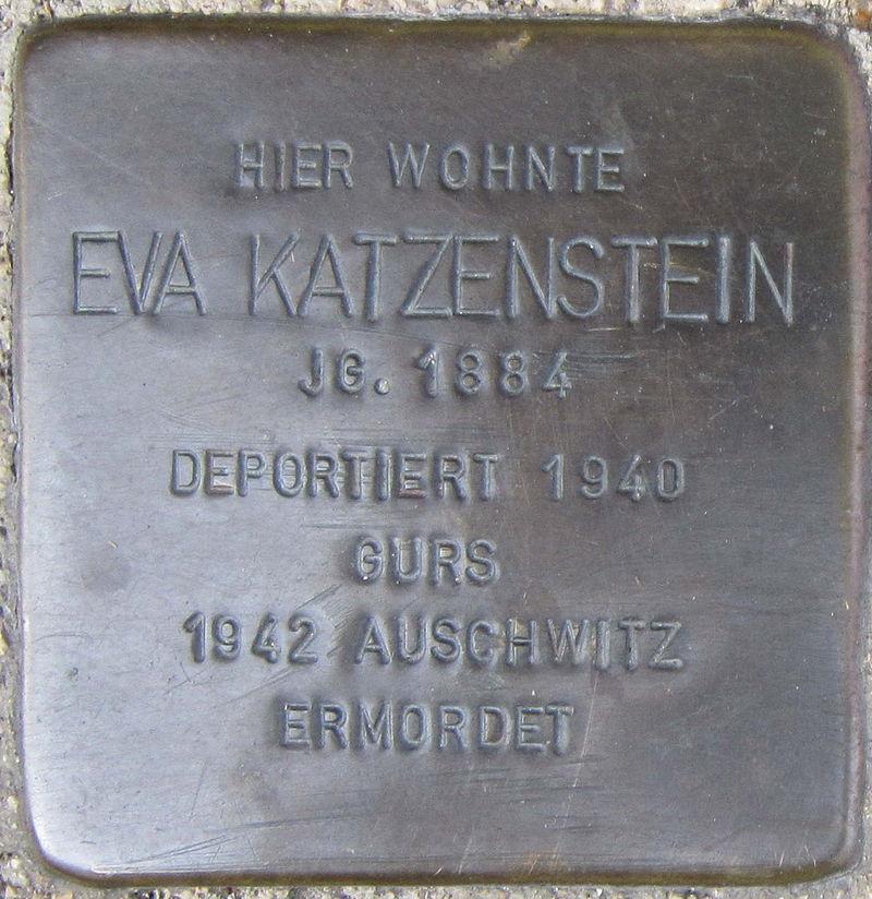 Stolperstein Pforzheim Katzenstein Eva.jpeg
