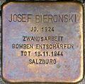 Stolperstein Salzburg, Josef Bieronski (Dreifaltigkeitsgasse 3).jpg