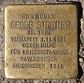 Stolperstein Schönhauser Allee 130 (Prenz) Georg Streiter.jpg
