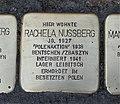 Stolperstein für Rachela Nussberg, Barbarossastraße 55, Chemnitz.JPG