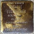 Stumbling block for Rosalie Buchheimer (Alteburger Straße 11)